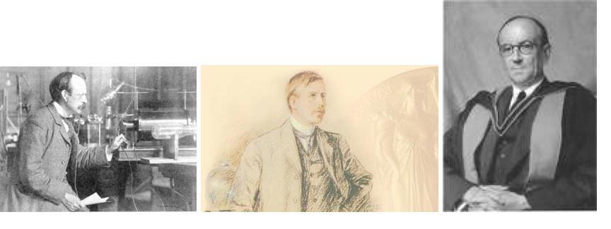 Thomson-Rutherford-Chadwick