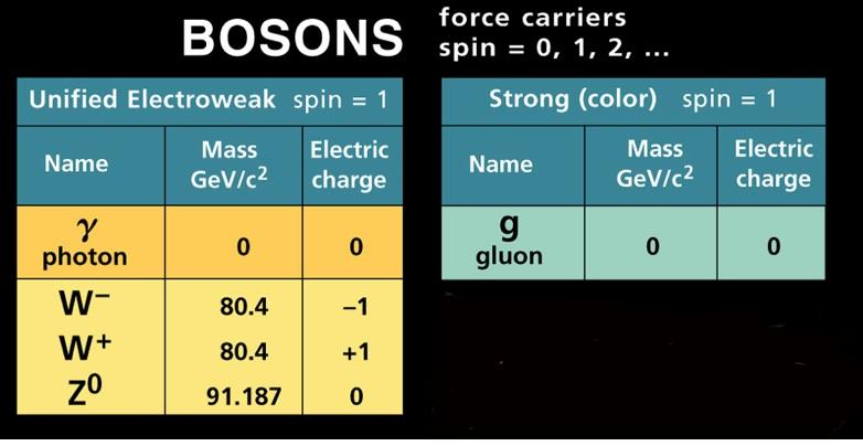 Bosones