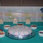 <i>La torta de un shower para Anabella</i>