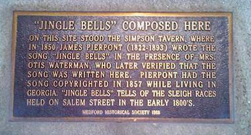 El sitio donde Jingle Bells fue creada (clic amplía)