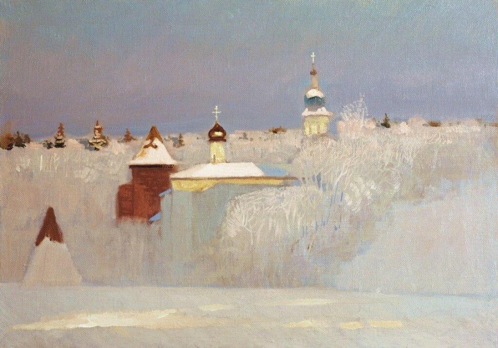 Nikolai Anokhin: Invierno ruso
