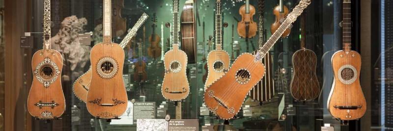 Exhibición del Musée de la Musique, París