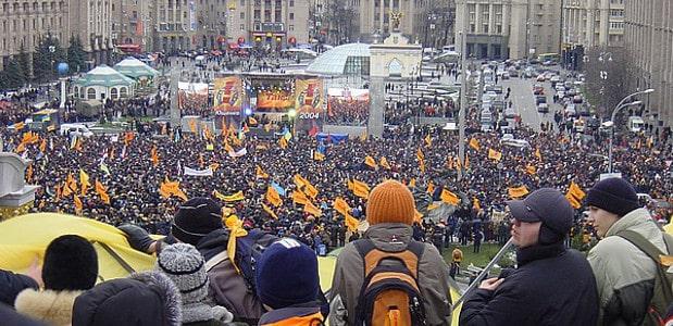 La Revolución Naranja en Ucrania: noviembre 2004-enero 2005