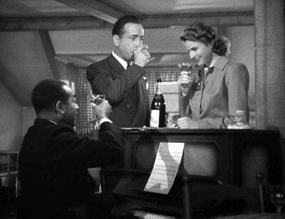 Wilson, Bogart, Bergman