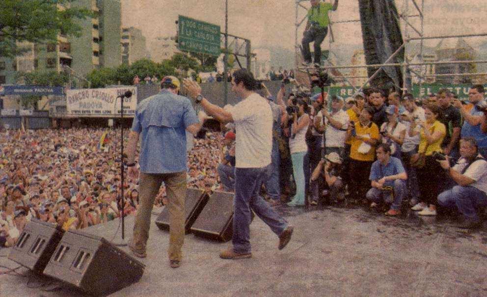 El pescozón de mardo a Capriles (El Nuevo País)