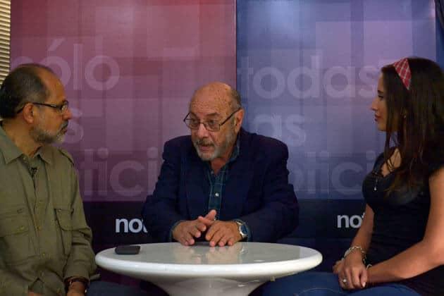 Con Villegas y Roquett