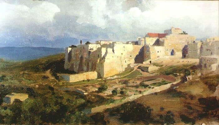 Vasily Polenov: Belén (1882)