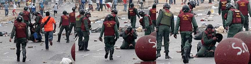 "Maduro: ""La Guardia ha estado apegada a la ley""."
