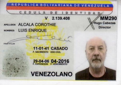 Cédula de identidad vigente y extraviada