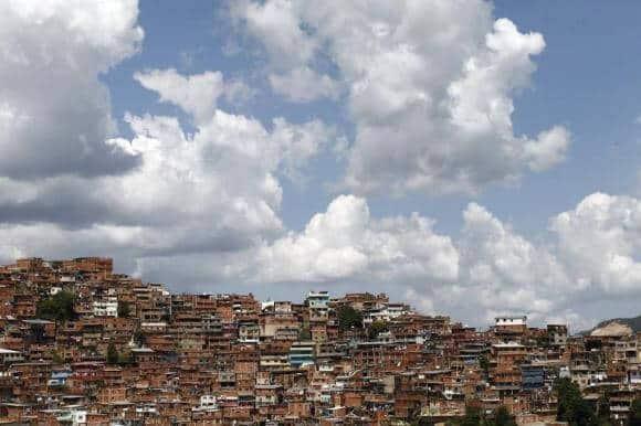 Vista de Petare - Jorge Silva, Reuters