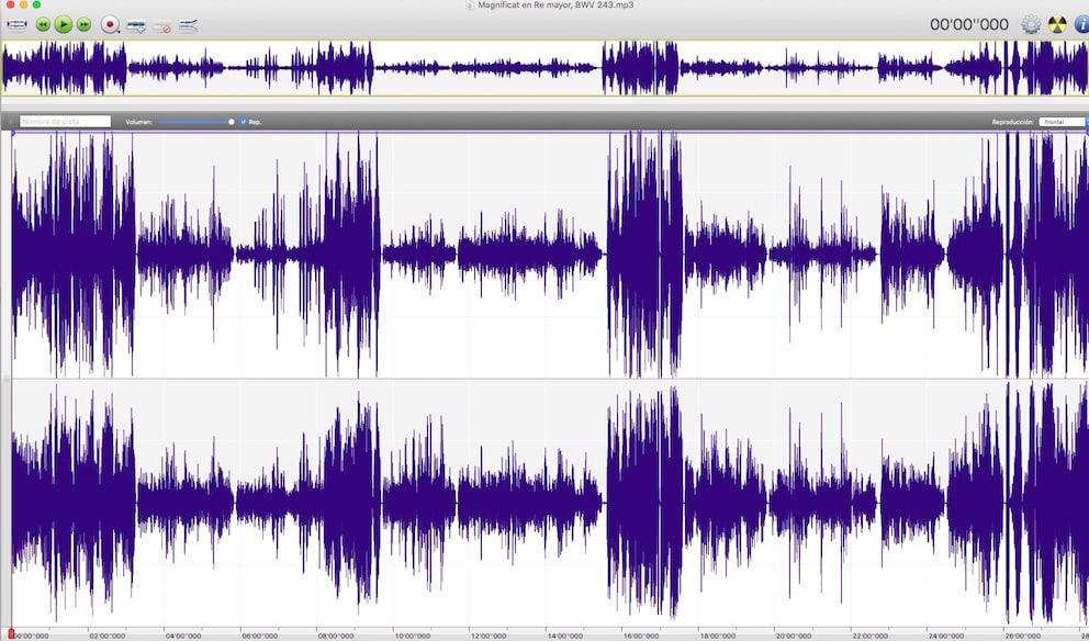 Dinámica sonora del Magnificat