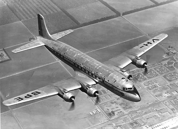El VH-BPE de BCPA que hacía el vuelo 304