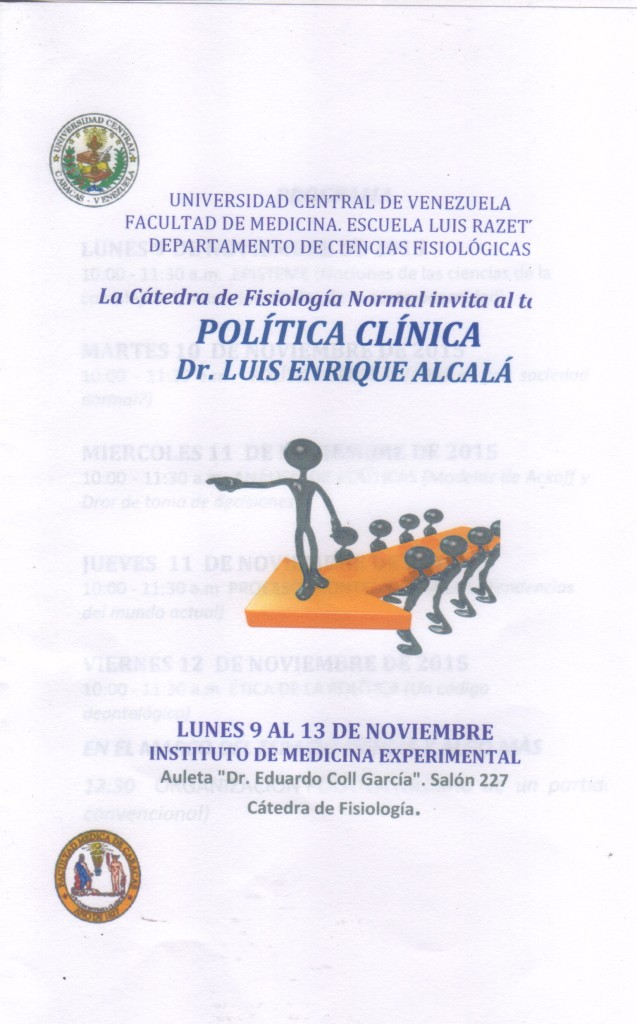 Carátula del folleto
