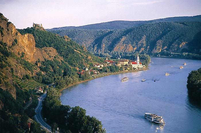 An der schönen blauen Donau