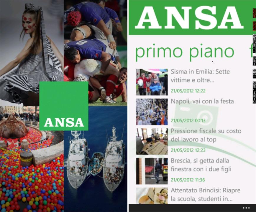 La agencia noticiosa de Italia