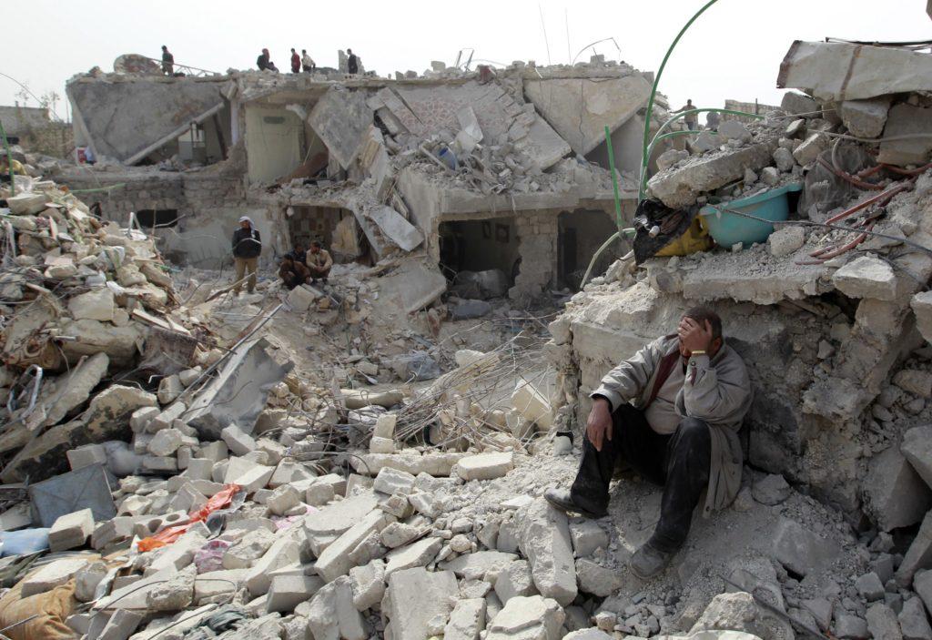 Una guerra civil con efectos de terremoto