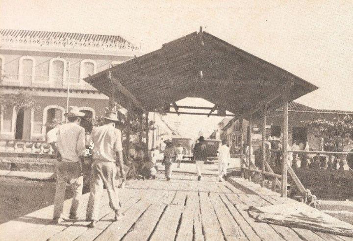 El viejo puerto de Porlamar