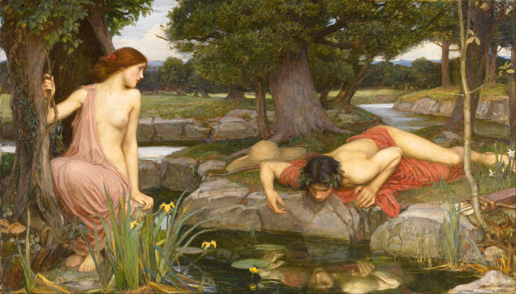 John William Waterhouse: Eco y Narciso