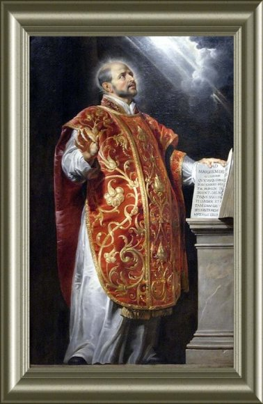 Ignacio de Loyola por Pedro Pablo Rubens, nadie menos
