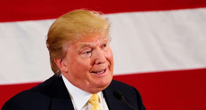 Donald Trump por Michael Vadon