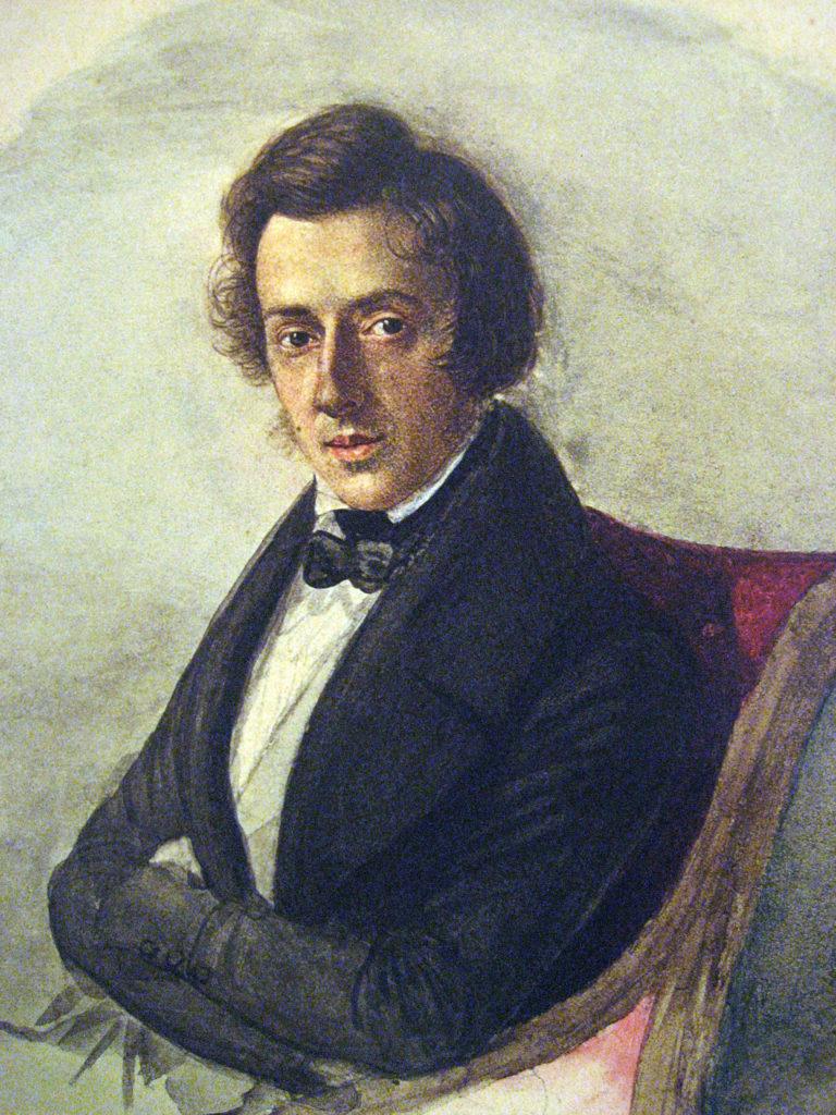 Chopin a sus 25 años de edad (Maria Wodzińska)